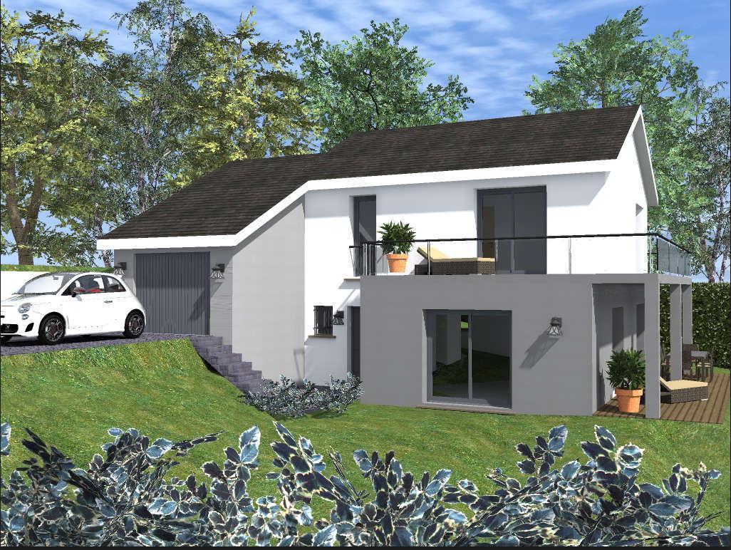 Maisons du constructeur COTRIN 74 • 125 m² • VIUZ EN SALLAZ