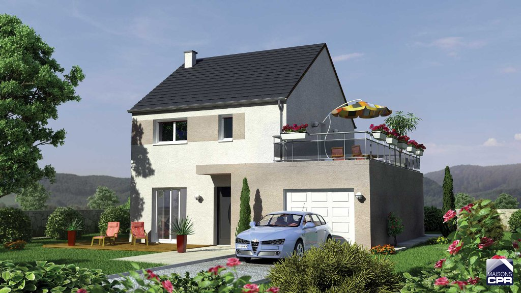 Maisons du constructeur MAISONS CPR • 101 m² • COURTENAY