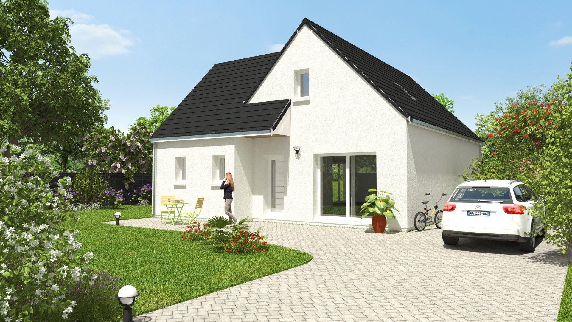 Maisons du constructeur MAISONS CPR • 118 m² • CERELLES