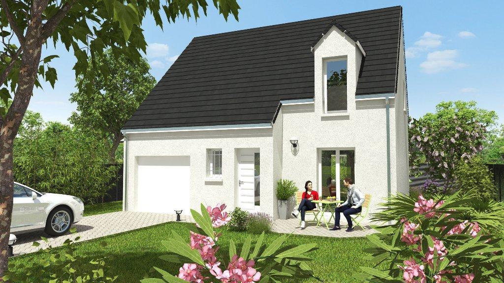 Maisons du constructeur CONSTRUCTIONS PERSONNALISEES ET RENOVATION REGION CENTRE • 92 m² • PATAY