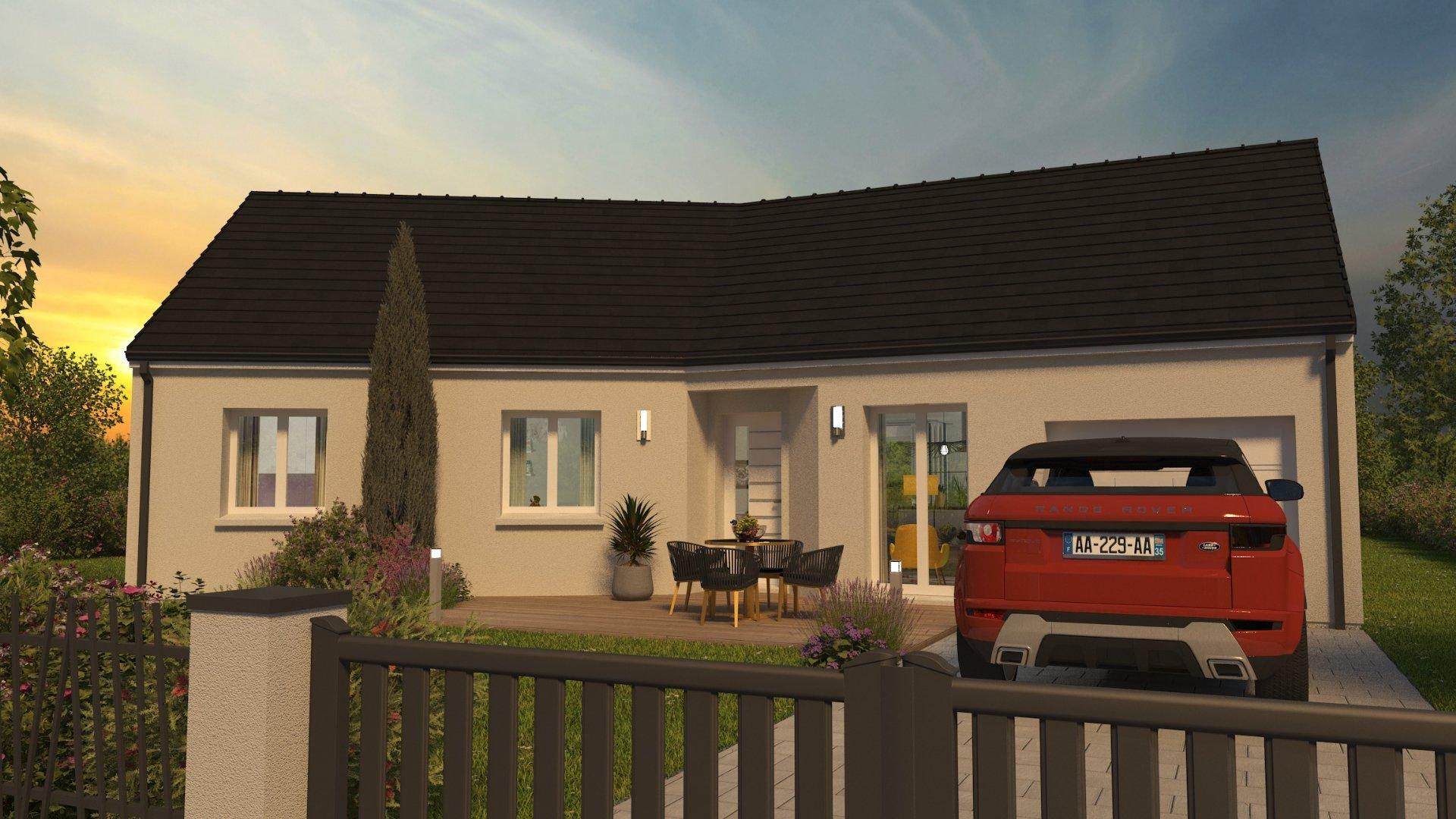 Maisons du constructeur CONSTRUCTIONS PERSONNALISEES ET RENOVATION REGION CENTRE • 98 m² • VALLERES