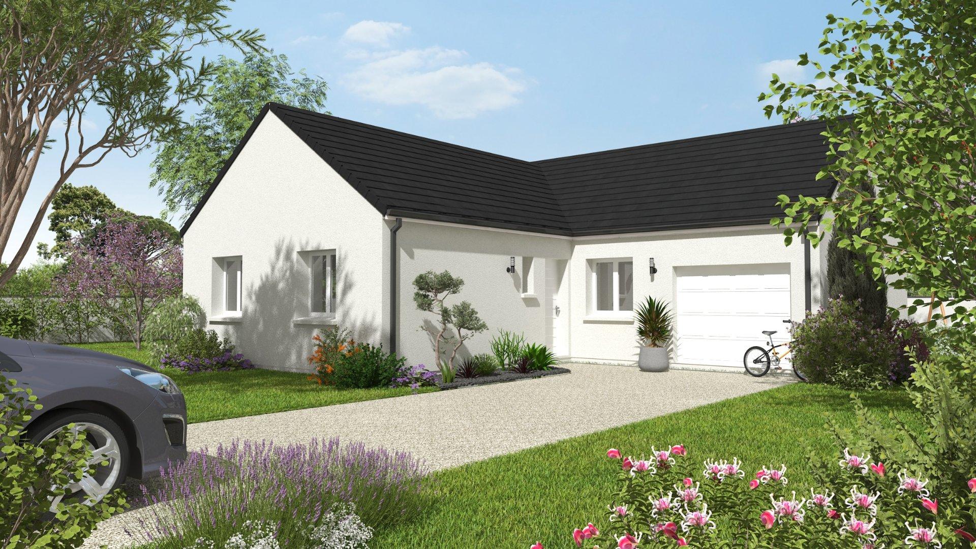 Maisons du constructeur CONSTRUCTIONS PERSONNALISEES ET RENOVATION REGION CENTRE • 93 m² • VERETZ