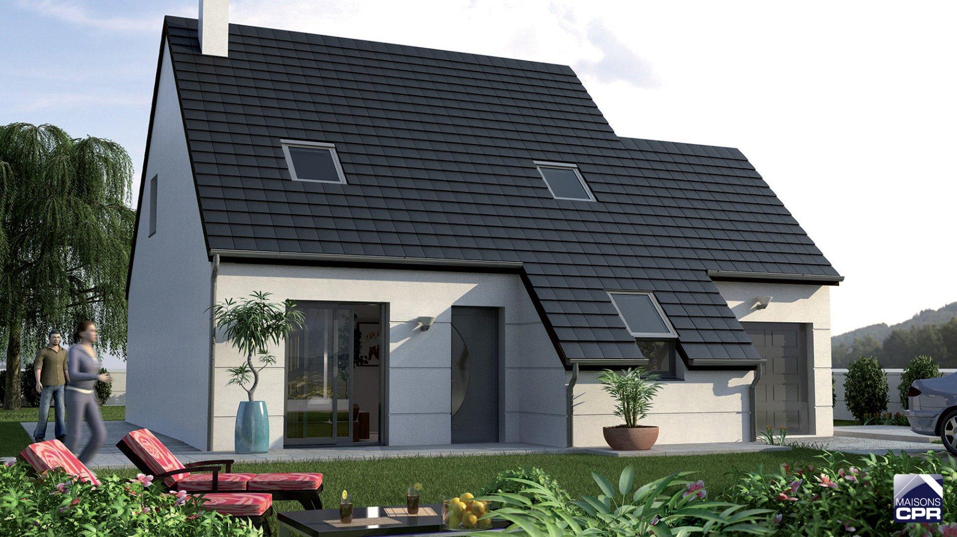 Maisons du constructeur MAISONS CPR • 101 m² • SAINT MARTIN LE BEAU
