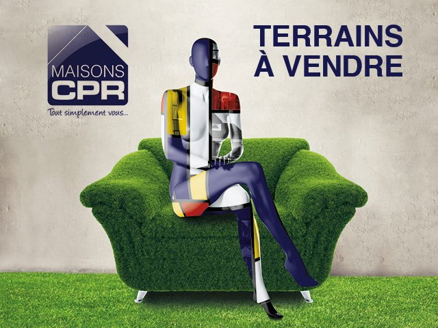 Terrains du constructeur MAISONS CPR • 950 m² • CIVRAY DE TOURAINE