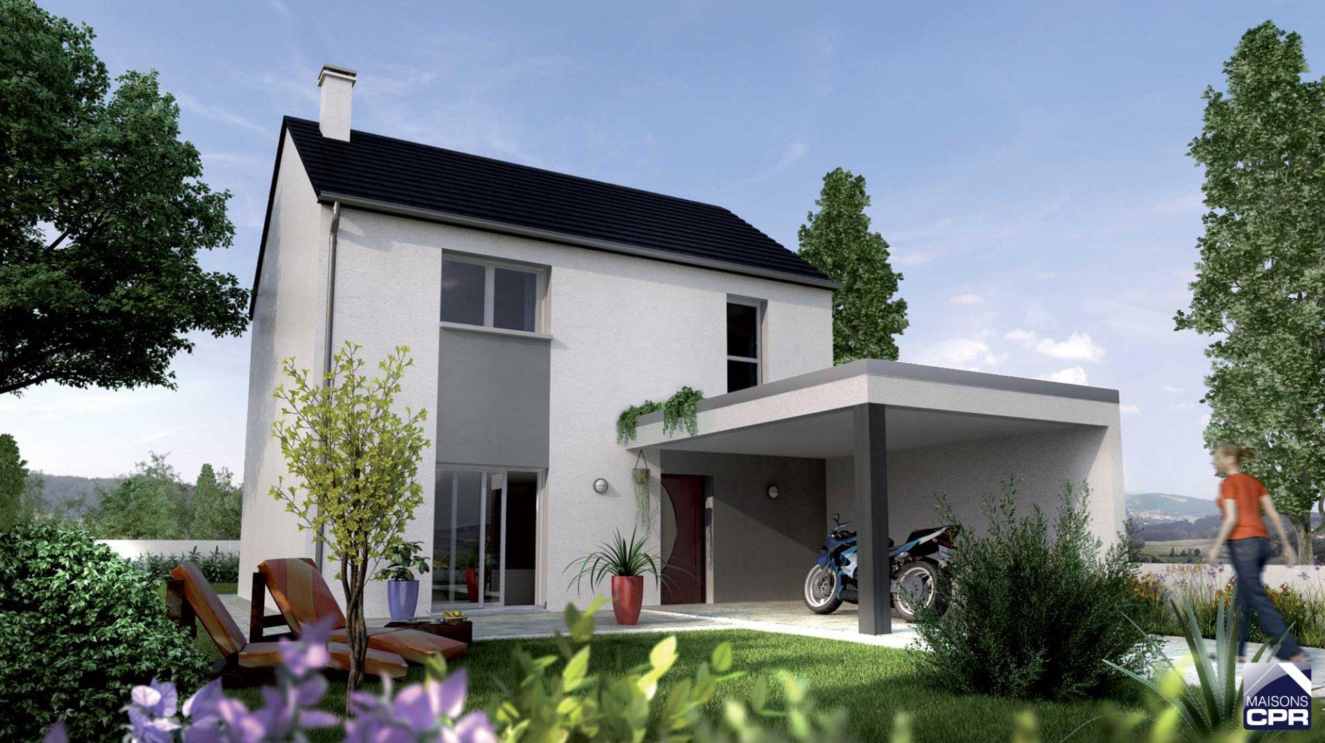 Maisons du constructeur MAISONS CPR • 89 m² • NOTRE DAME D'OE