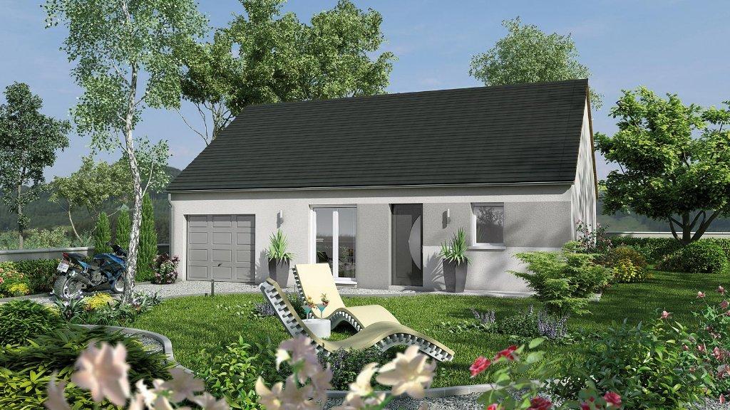 Maisons du constructeur MAISONS CPR • 63 m² • CIVRAY DE TOURAINE