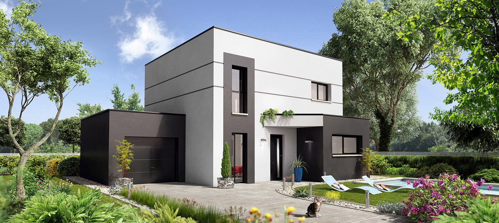 Maisons du constructeur MAISONS CPR • 126 m² • MONNAIE