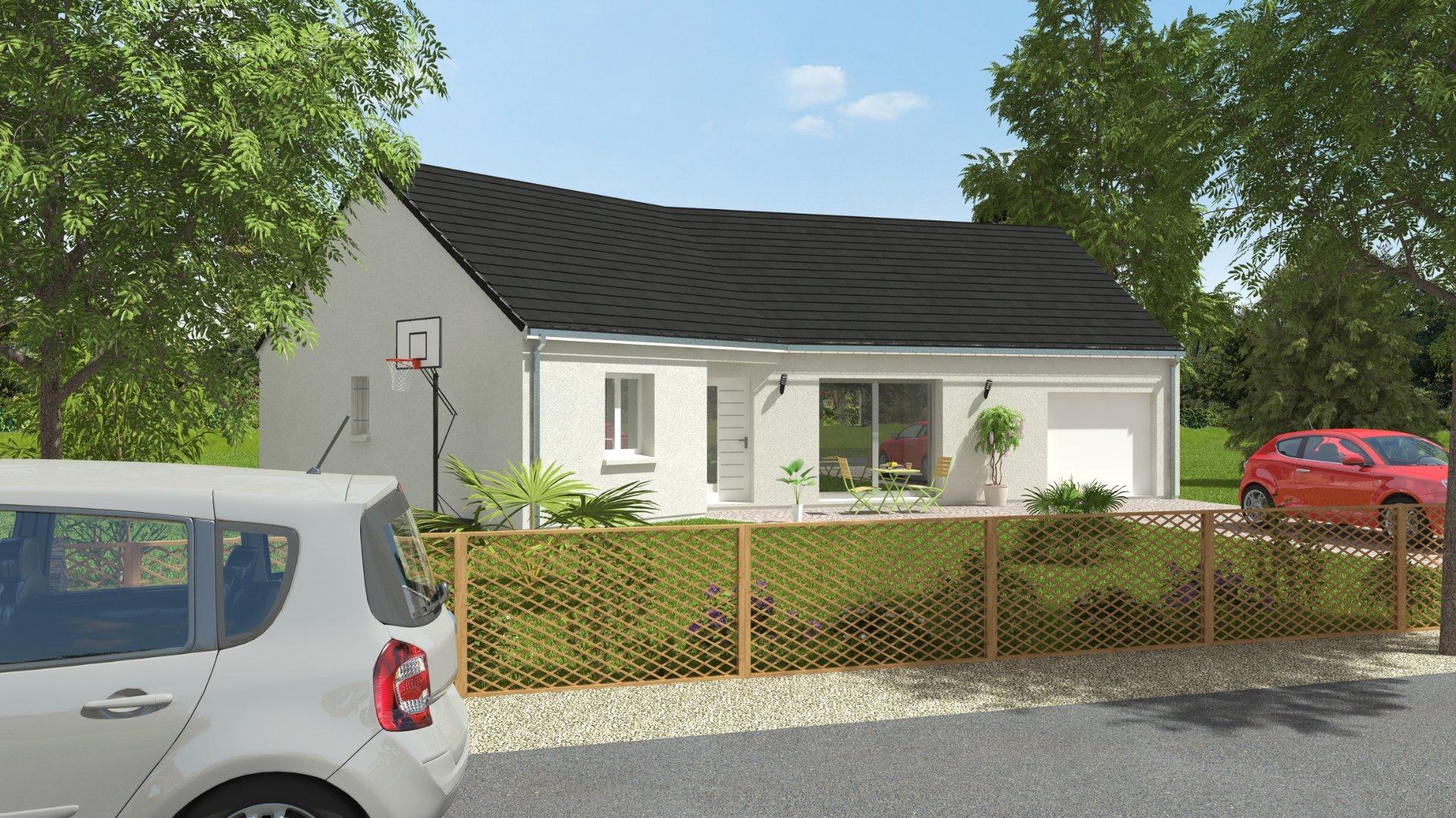 Maisons du constructeur MAISONS CPR • 98 m² • PARCAY MESLAY