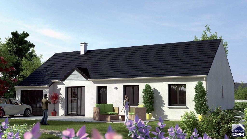 Maisons du constructeur MAISONS CPR • 88 m² • AZAY SUR CHER
