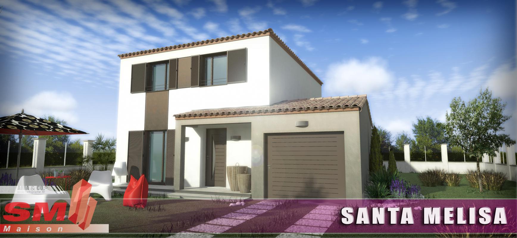 Maisons + Terrains du constructeur SM MAISON • 110 m² • PERPIGNAN