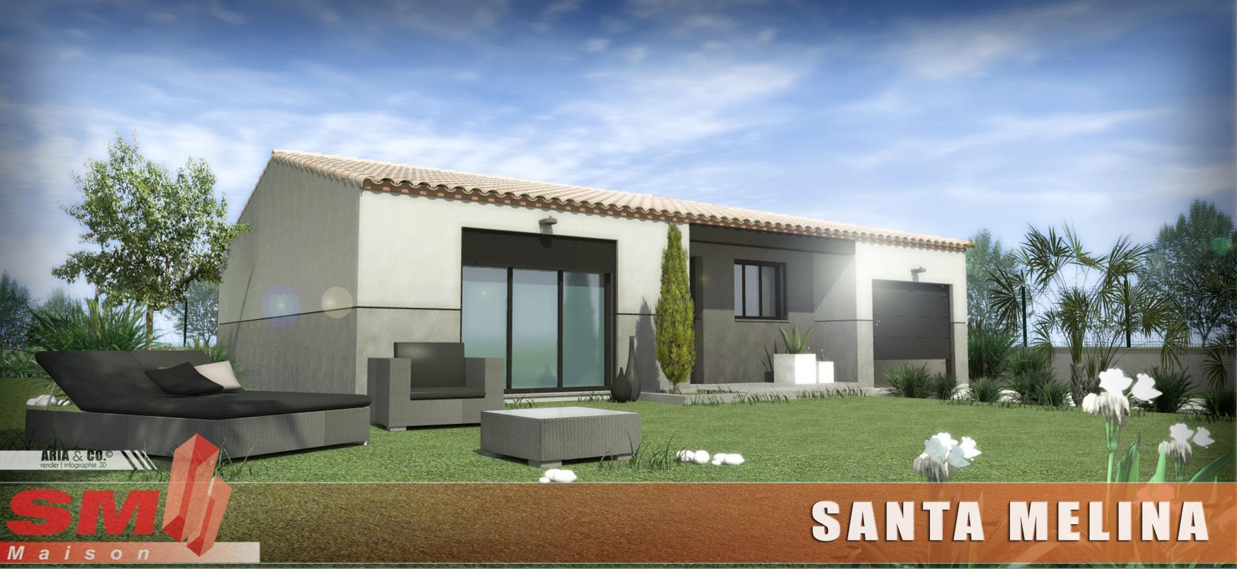 Maisons + Terrains du constructeur SM MAISON • 65 m² • SAINT JEAN LASSEILLE