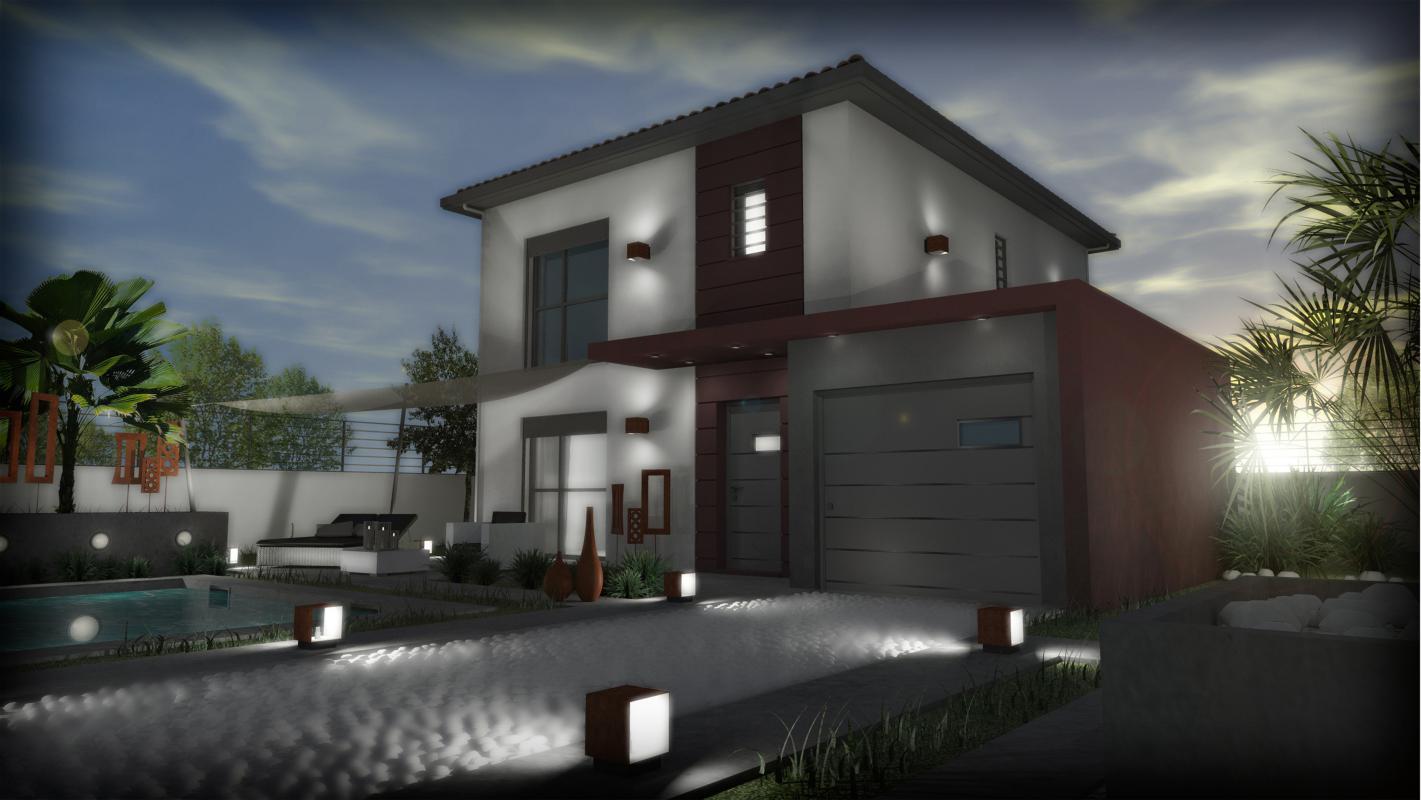 Maisons + Terrains du constructeur SM MAISON • 80 m² • PEZILLA LA RIVIERE