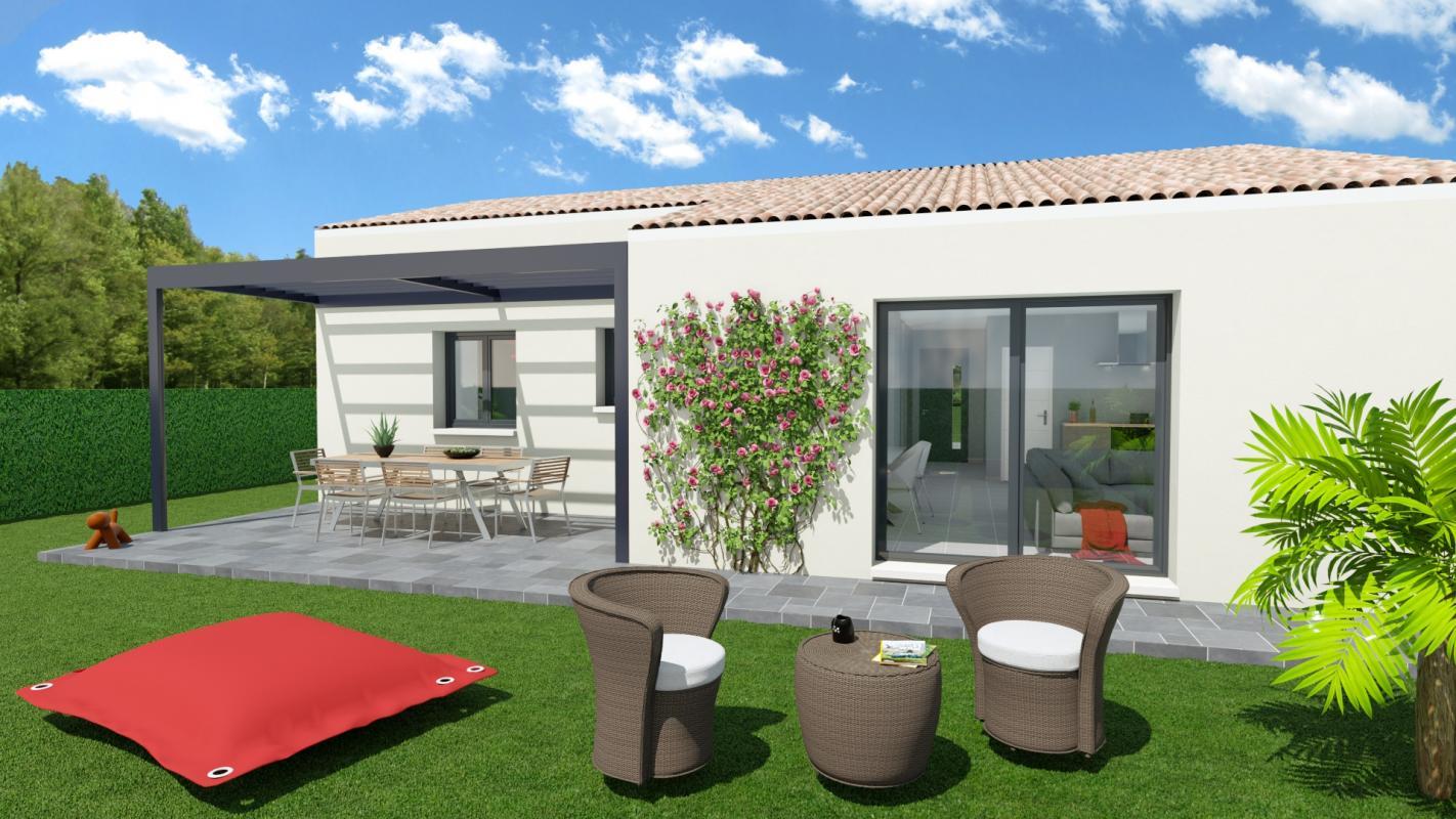 Maisons + Terrains du constructeur SM MAISON • 85 m² • SAINT JEAN LASSEILLE