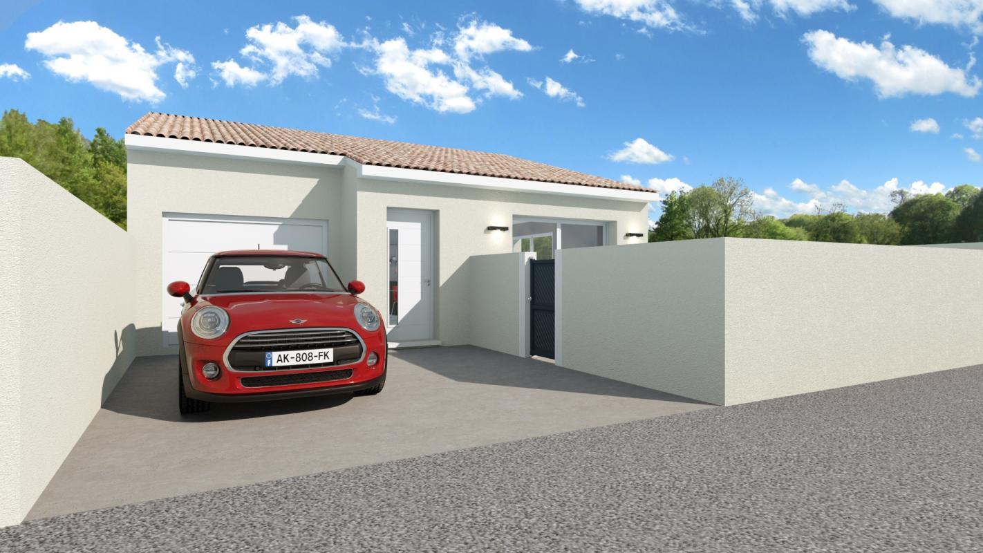 Maisons + Terrains du constructeur SM MAISON • 80 m² • RIVESALTES