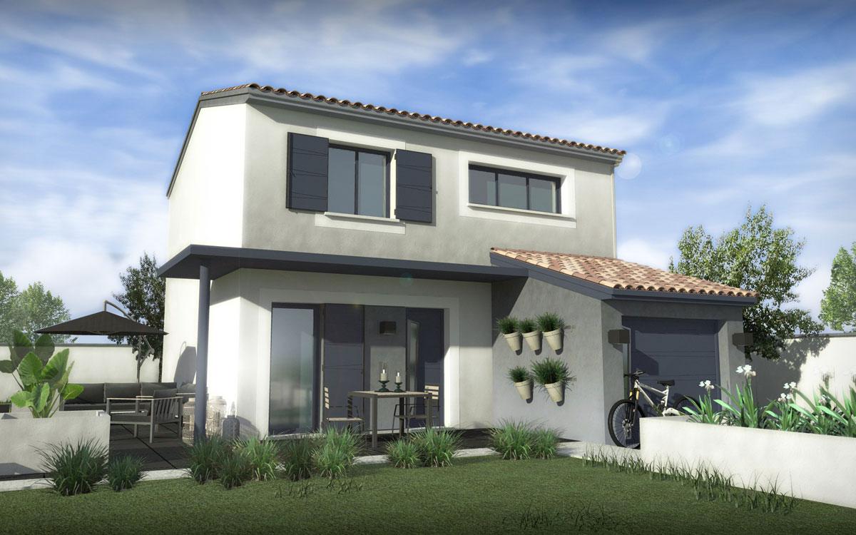 Maisons + Terrains du constructeur SM MAISON • 90 m² • PERPIGNAN