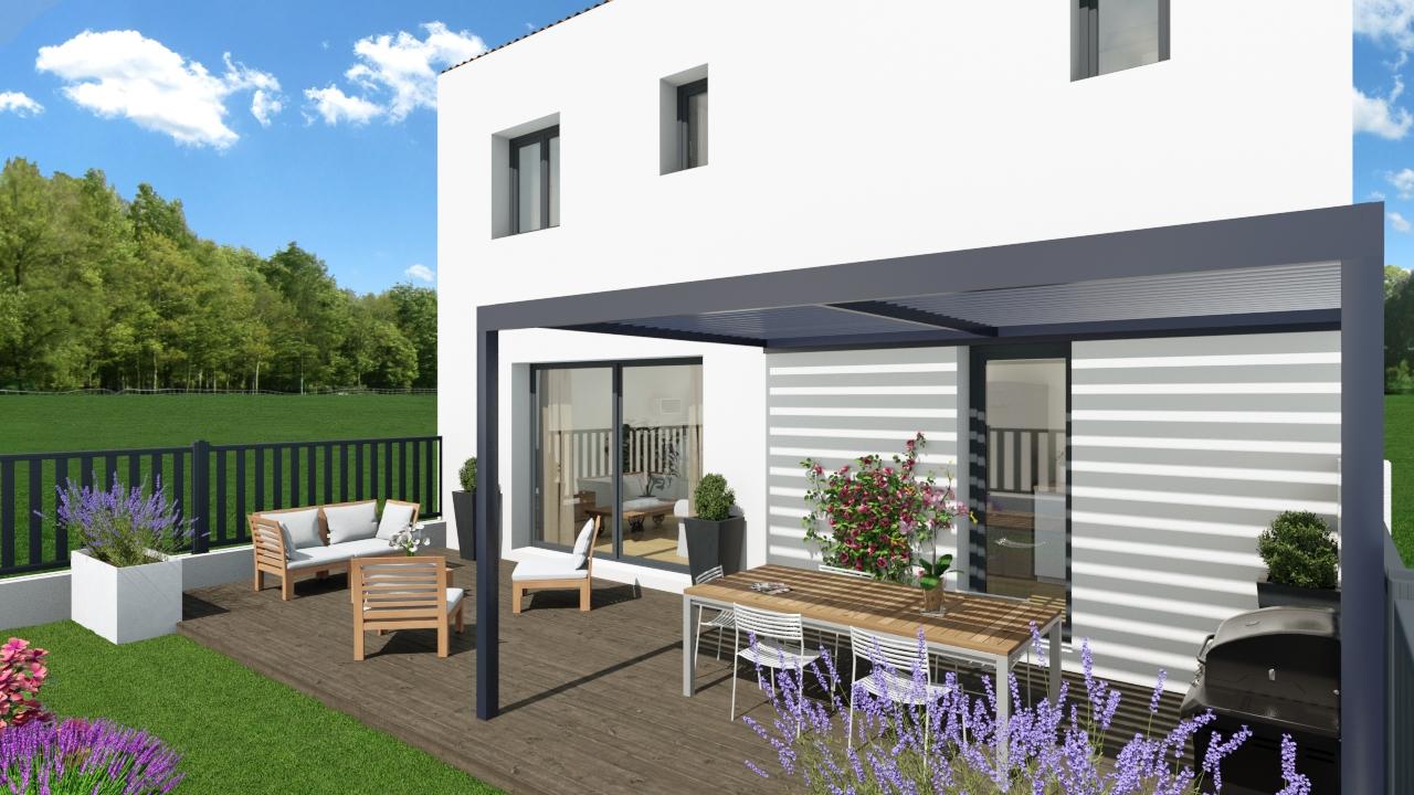 Maisons + Terrains du constructeur SM MAISON • 80 m² • PRADES
