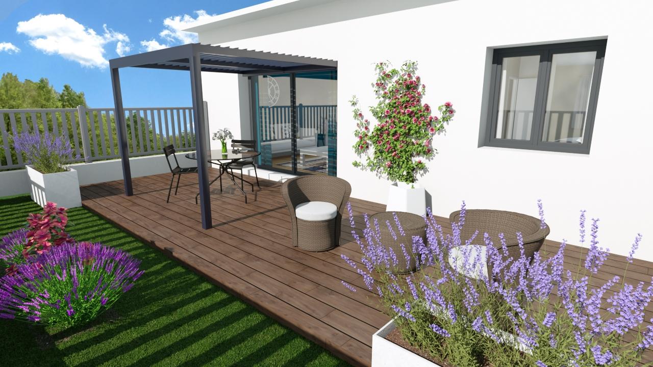 Maisons + Terrains du constructeur SM MAISON • 65 m² • VERNET LES BAINS