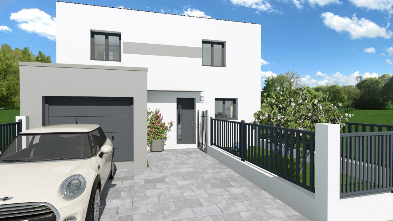 Maisons + Terrains du constructeur SM MAISON • 90 m² • VINCA