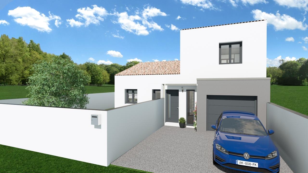 Maisons + Terrains du constructeur SM MAISON • 90 m² • ARGELES PLAGE