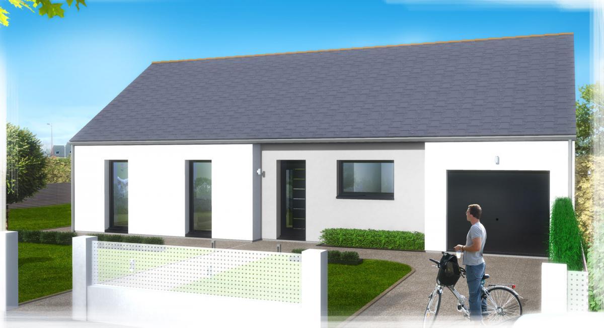 Maisons du constructeur TRADICONFORT 44 • 86 m² • LA CHAPELLE LAUNAY