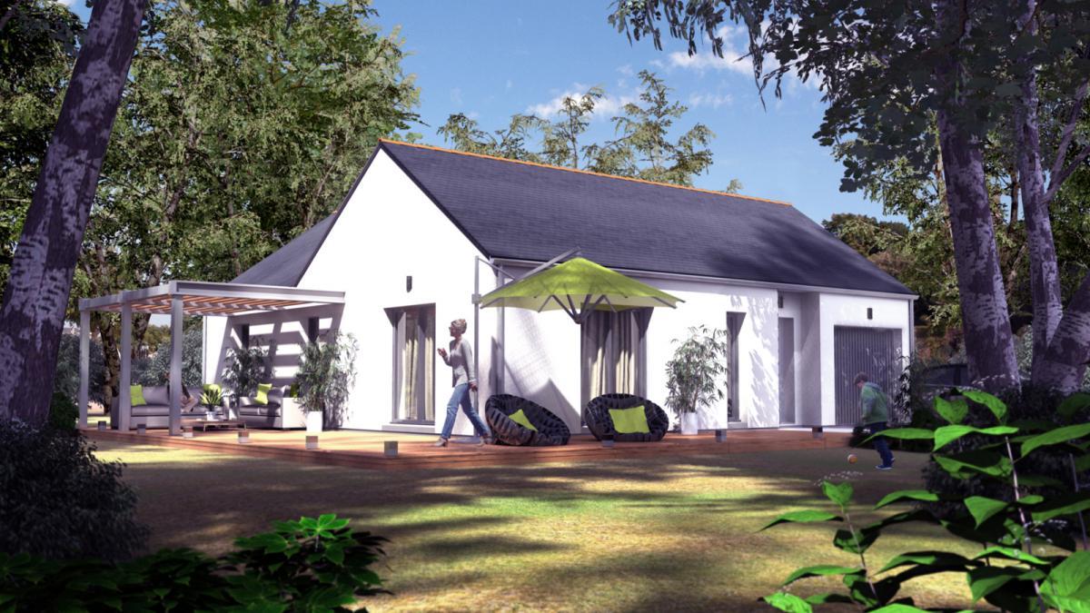 Maisons du constructeur TRADICONFORT 44 • 80 m² • NOZAY