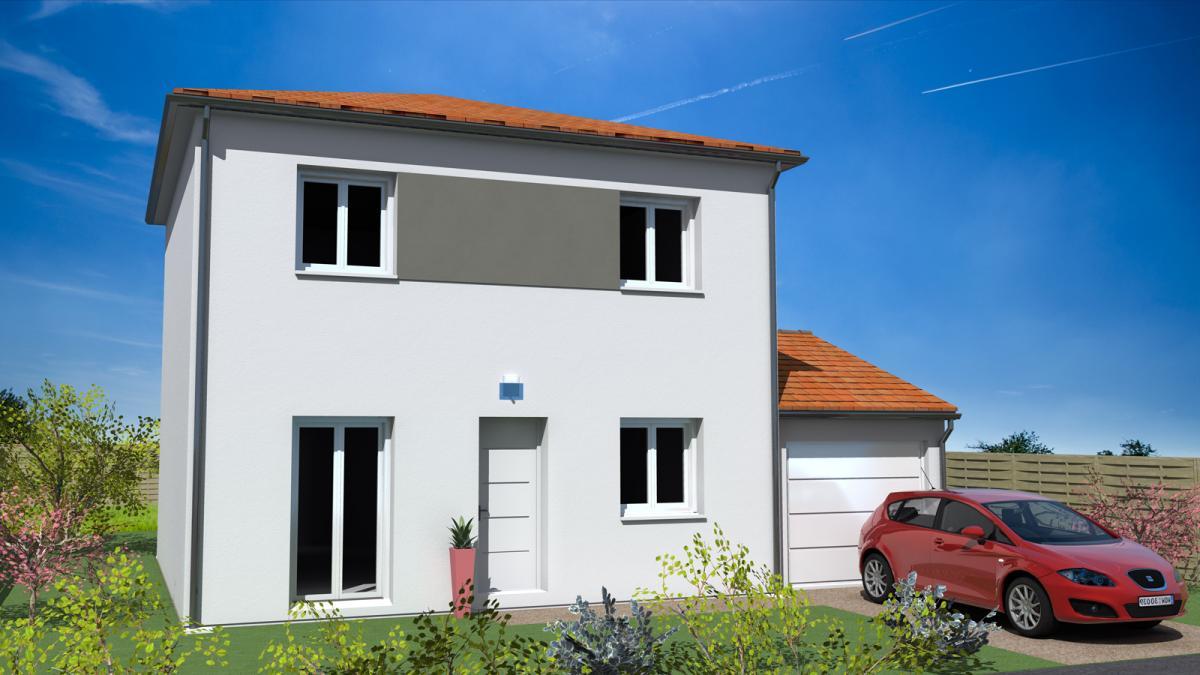 Maisons du constructeur TRADICONFORT 44 • 90 m² • LE LANDREAU