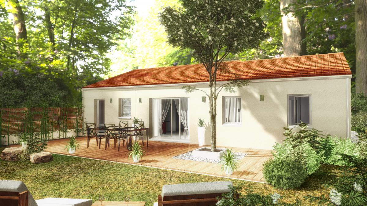 Maisons du constructeur TRADICONFORT 44 • 95 m² • LE PALLET