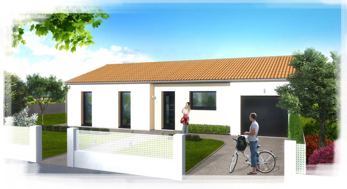 Maisons du constructeur TRADICONFORT 44 • 86 m² • LE PALLET