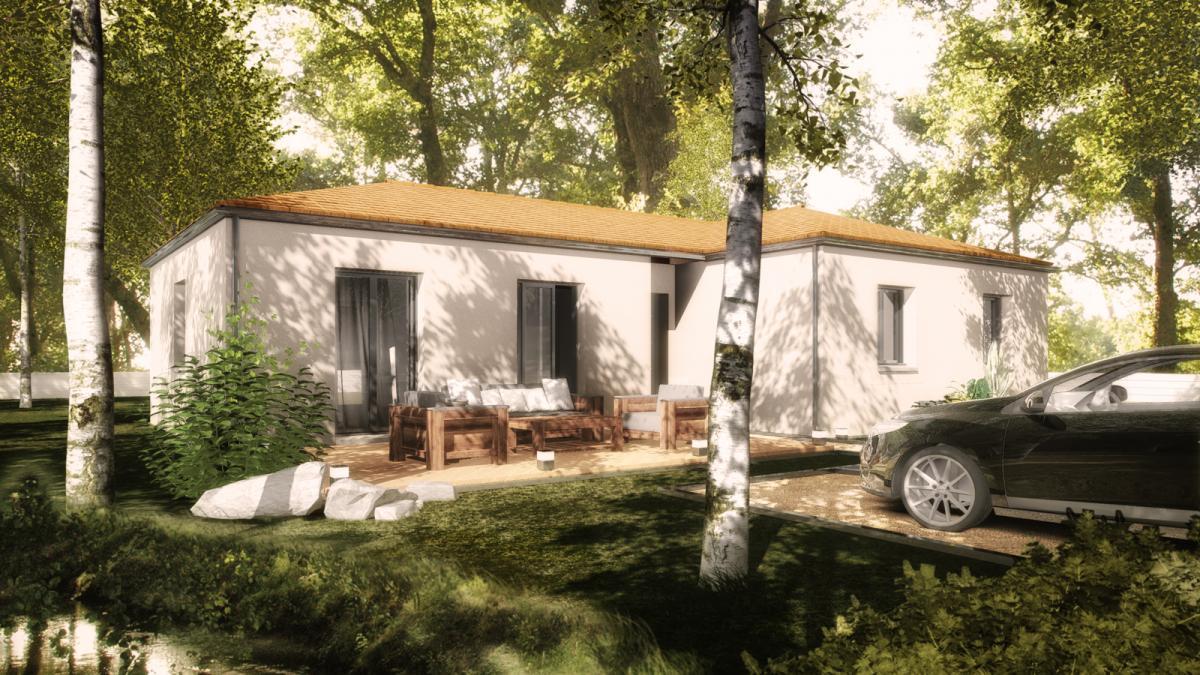 Maisons du constructeur TRADICONFORT 44 • 86 m² • SAINT MARS DE COUTAIS