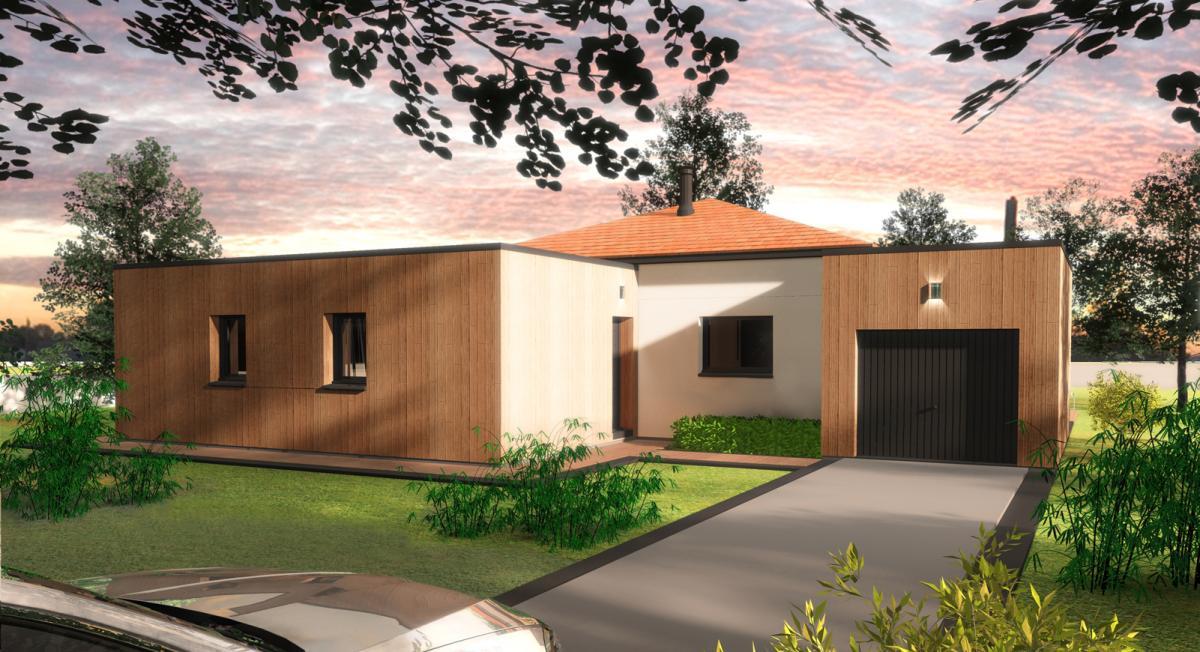 Maisons du constructeur TRADICONFORT 44 • 100 m² • SAINT MARS DE COUTAIS