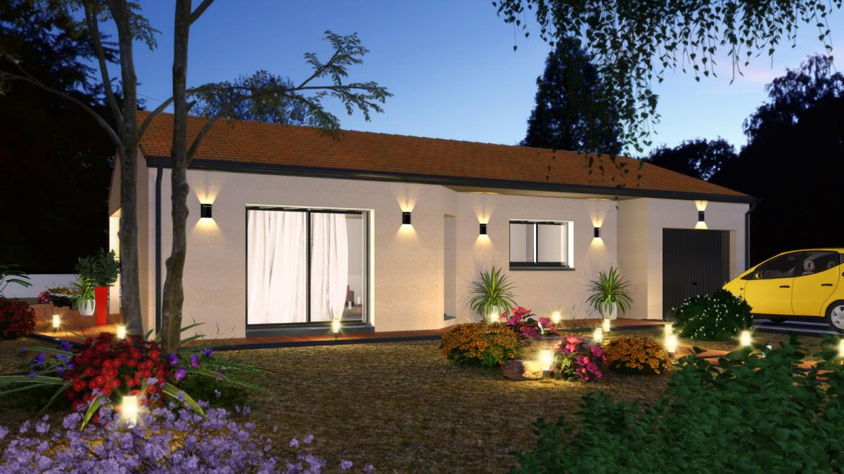 Maisons du constructeur TRADICONFORT 44 • 80 m² • BOURGNEUF EN RETZ
