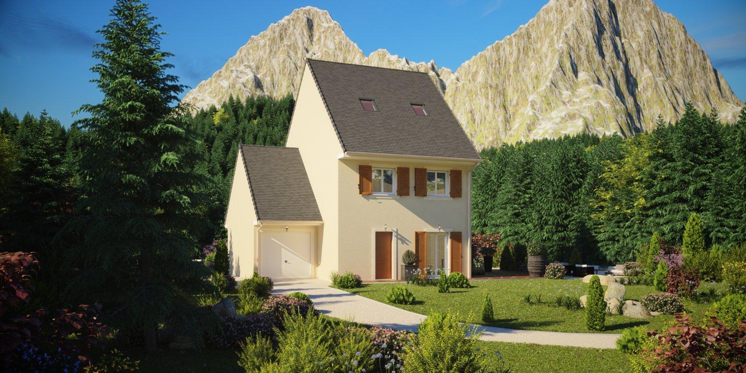 Maisons du constructeur Maisons Pierre • 109 m² • LEFOREST