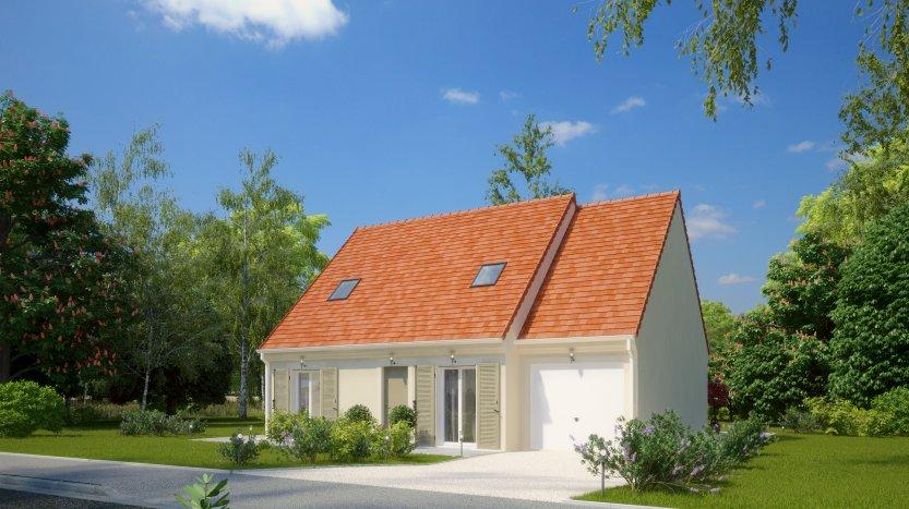 Maisons du constructeur MAISONS PIERRE • 89 m² • NOZAY