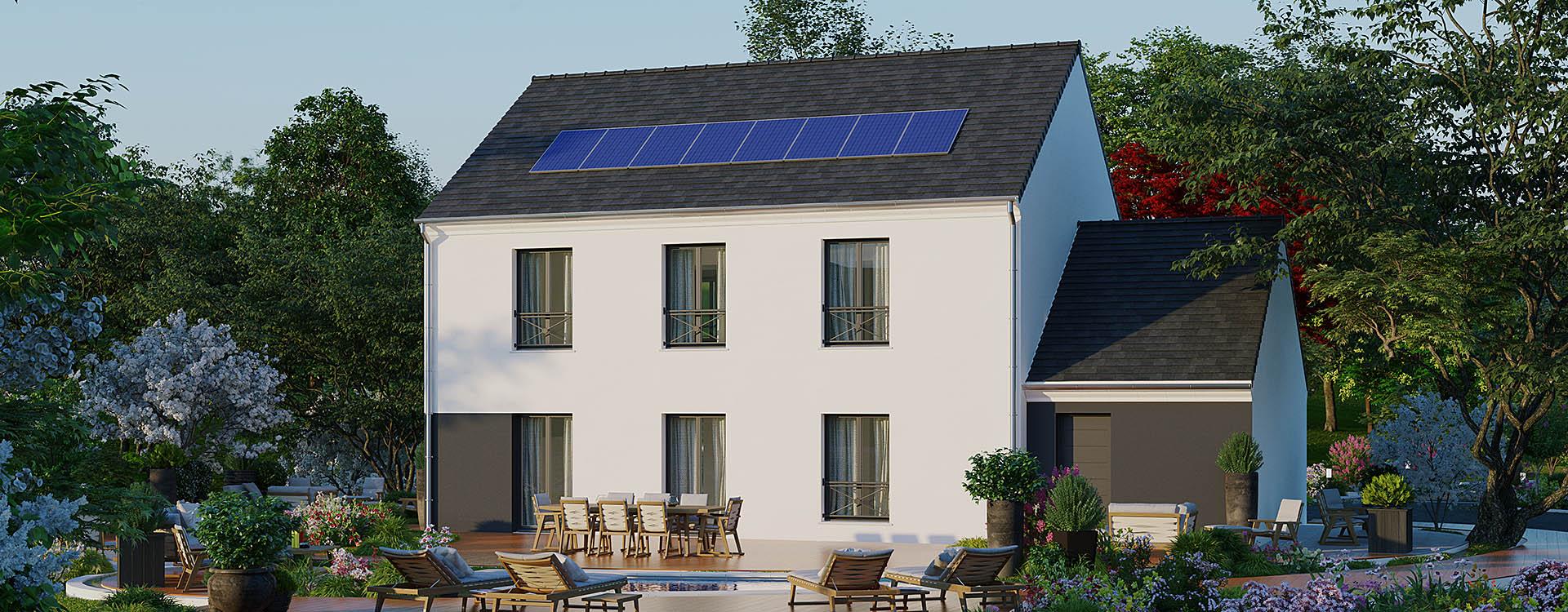 Maisons du constructeur MAISONS PIERRE • 152 m² • OLLAINVILLE
