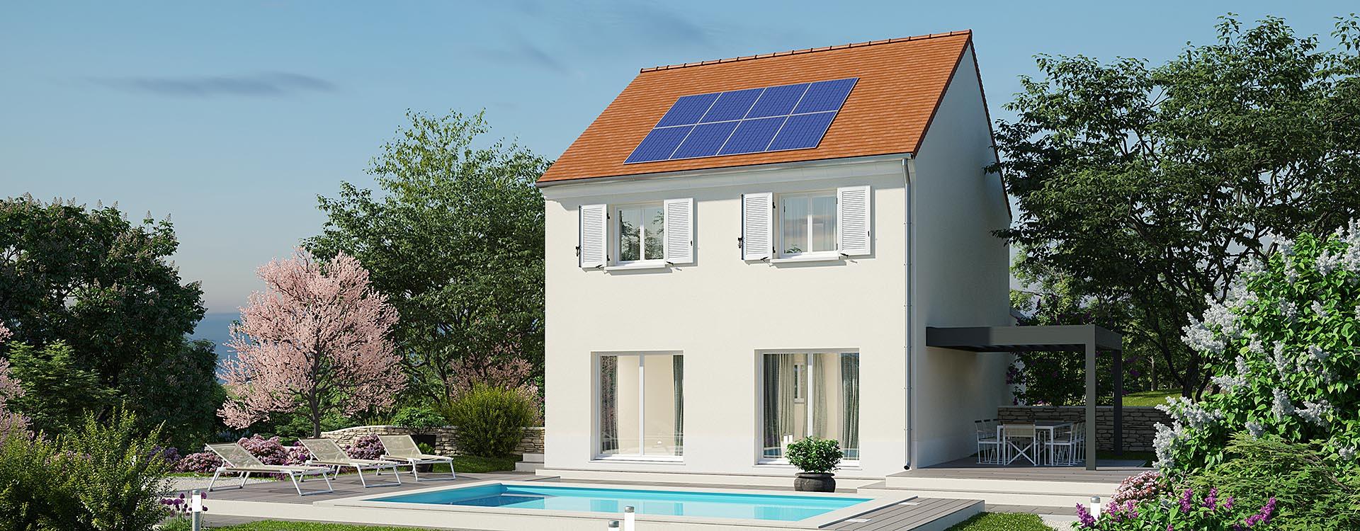 Maisons du constructeur MAISONS PIERRE • 107 m² • ARPAJON