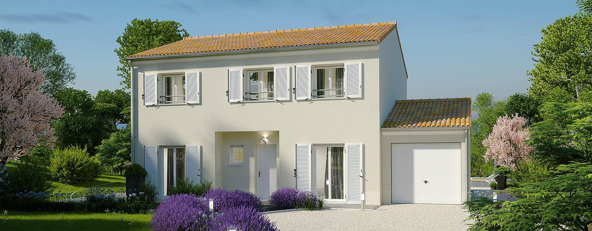 Maisons du constructeur MAISONS PIERRE • 118 m² • OLLAINVILLE