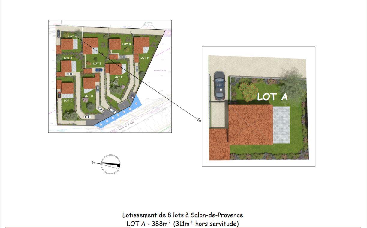 Terrains du constructeur BASTIEN ARFI IMMOBILIER • 388 m² • SALON DE PROVENCE