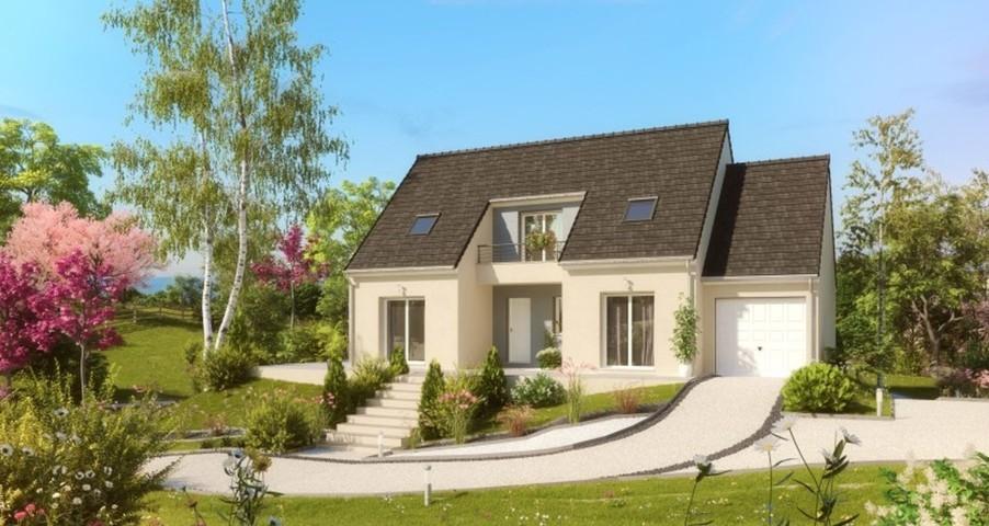 Maisons du constructeur MAISONS PIERRE - VALENCIENNES • 136 m² • VILLENEUVE D'ASCQ