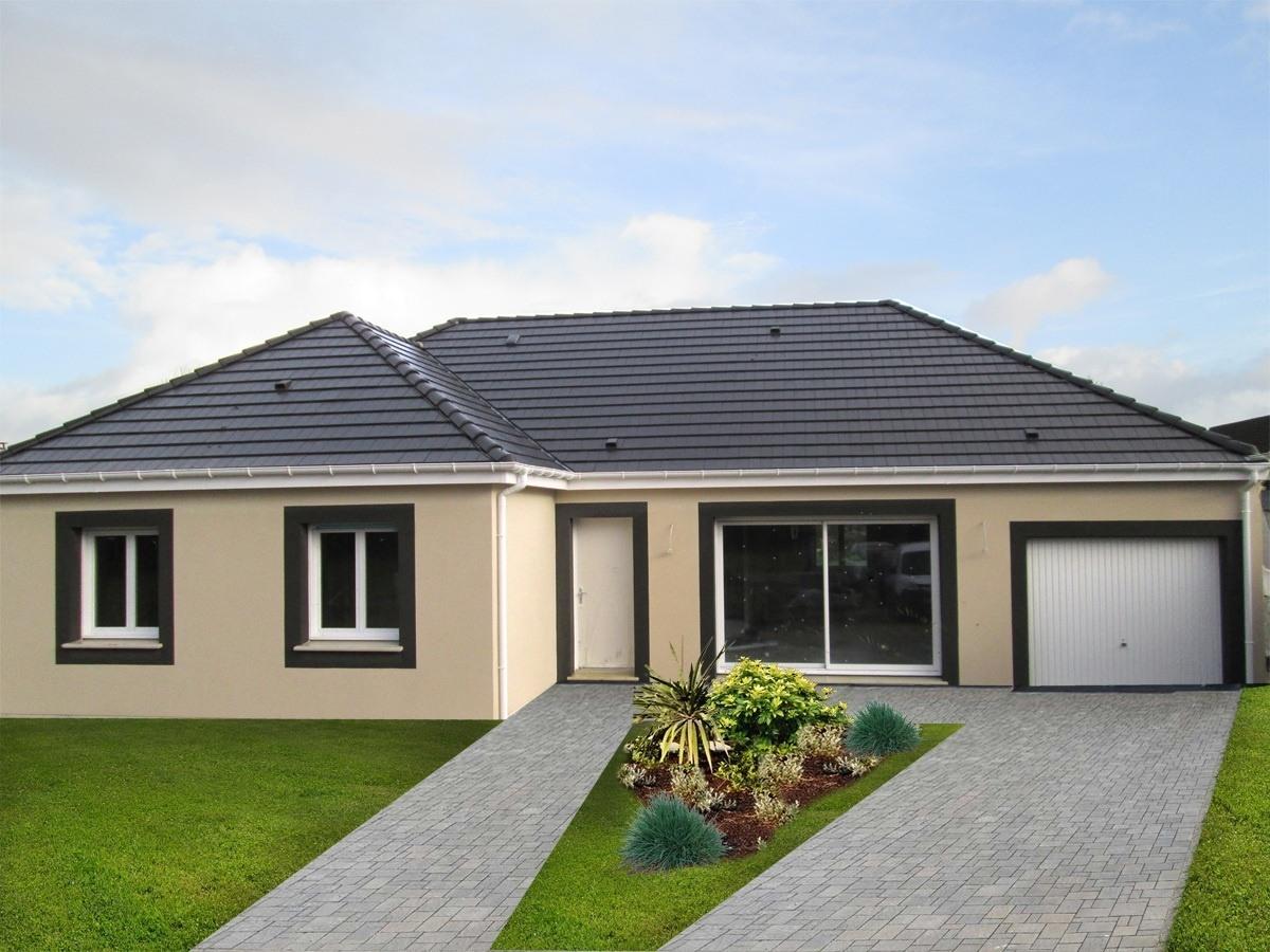 Maisons + Terrains du constructeur MAISON FAMILIALE • 110 m² • BUEIL