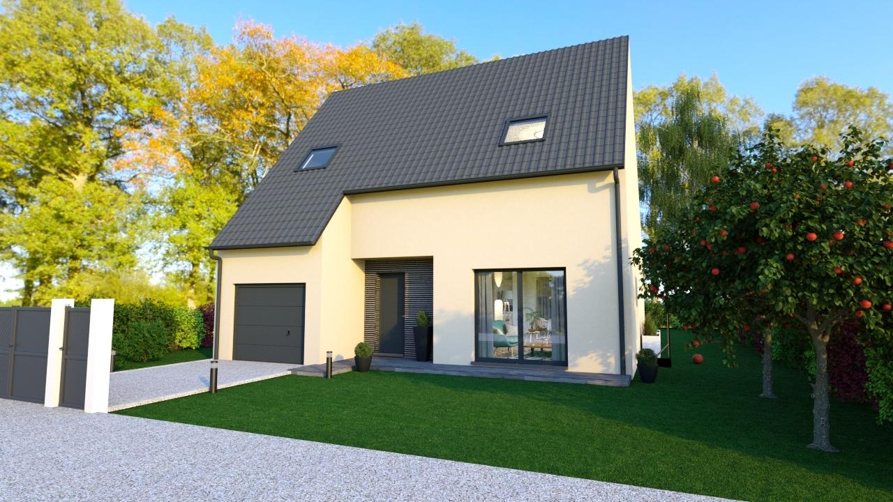 Maisons + Terrains du constructeur MAISONS LOGELIS • 109 m² • GAZERAN