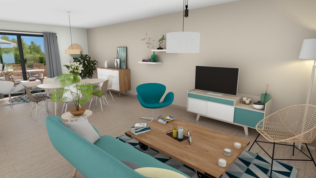 Maisons + Terrains du constructeur MAISONS LOGELIS • 109 m² • RUBELLES