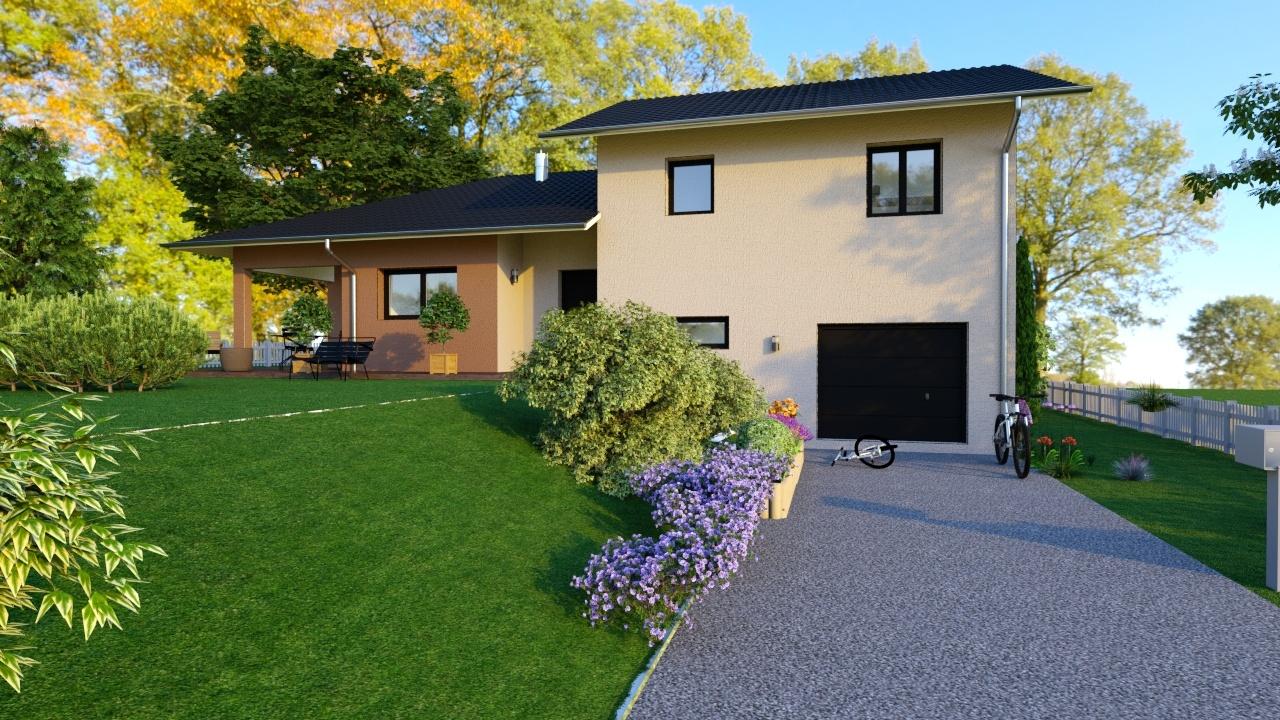 Maisons + Terrains du constructeur MAISONS LOGELIS - Agence d Arpajon • 97 m² • OLLAINVILLE