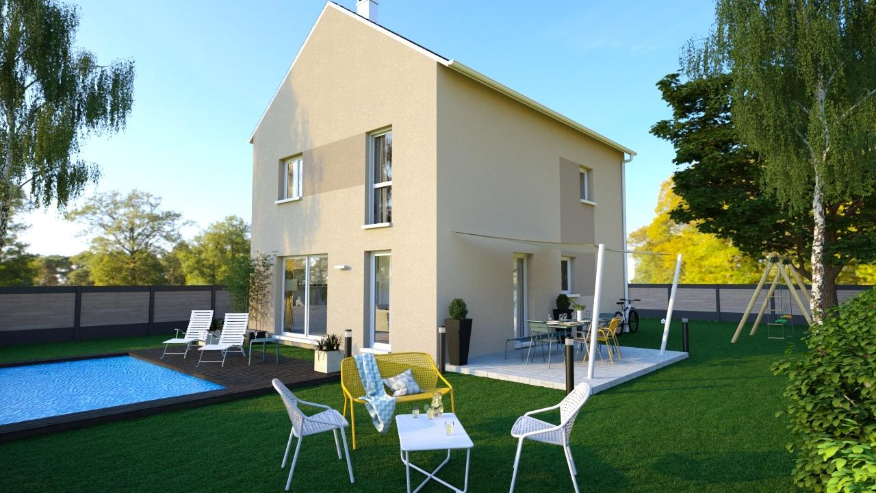 Maisons + Terrains du constructeur MAISONS LOGELIS - Agence d Arpajon • 82 m² • LARDY