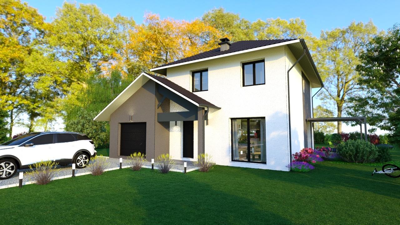 Maisons + Terrains du constructeur MAISONS LOGELIS - Agence d Arpajon • 119 m² • MAROLLES EN HUREPOIX
