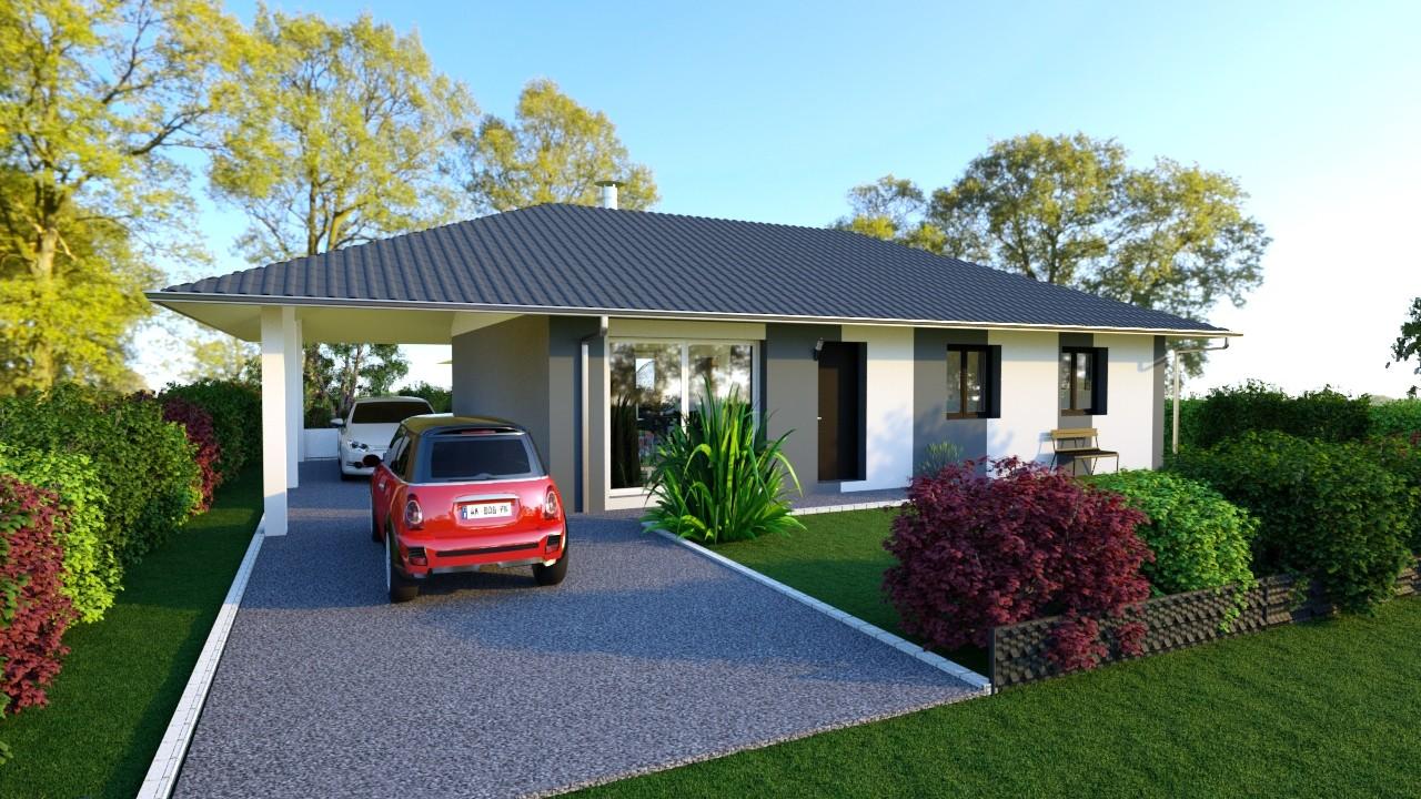Maisons du constructeur MAISONS LOGELIS - Agence d Arpajon • 88 m² • CHAILLY EN BIERE