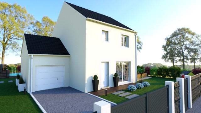 Maisons du constructeur MAISONS LOGELIS - Agence d Arpajon • 90 m² • D'HUISON LONGUEVILLE