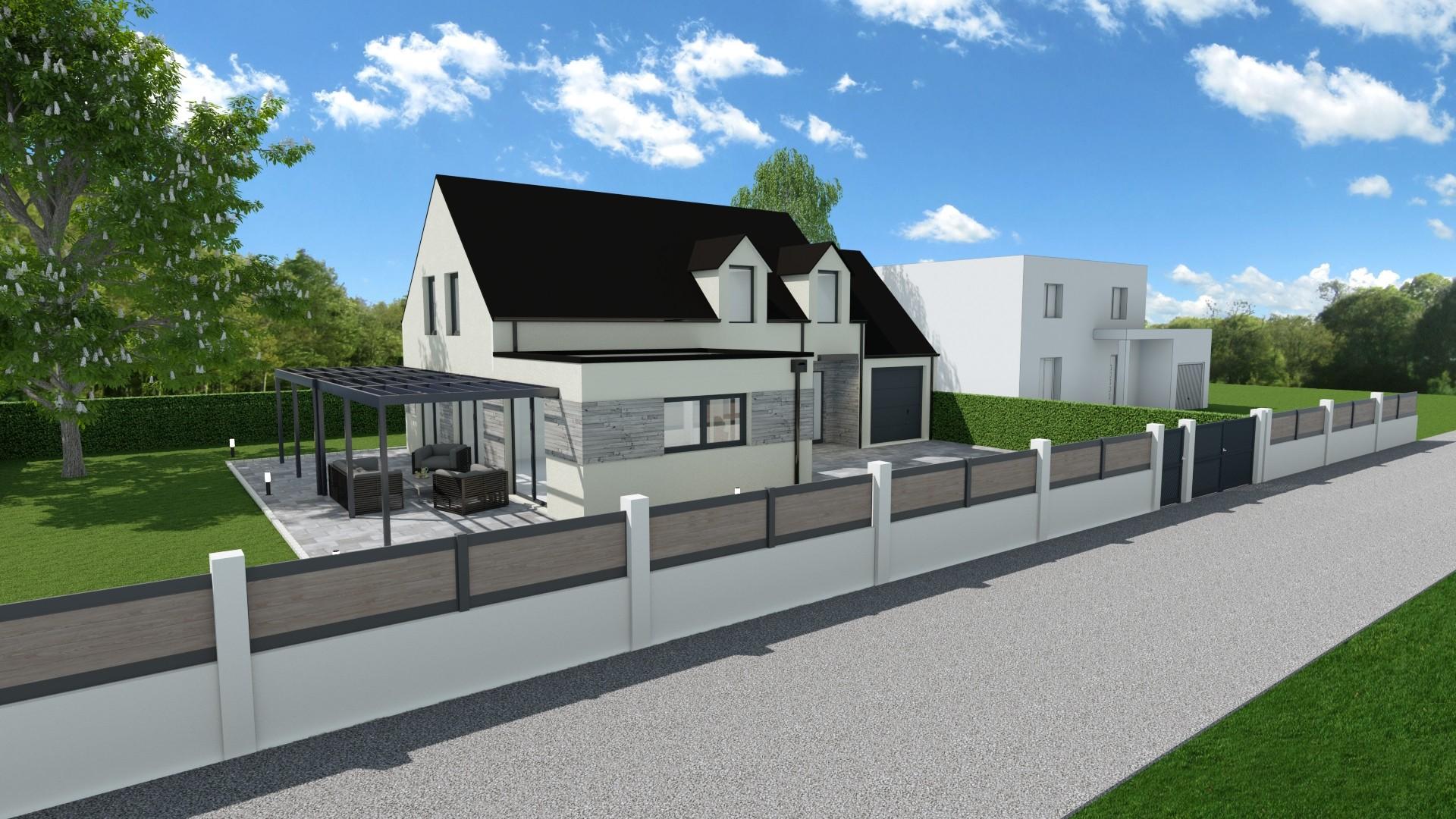 Terrains du constructeur MAISONS LOGELIS - Agence d Arpajon • 1200 m² • DAMPIERRE EN YVELINES