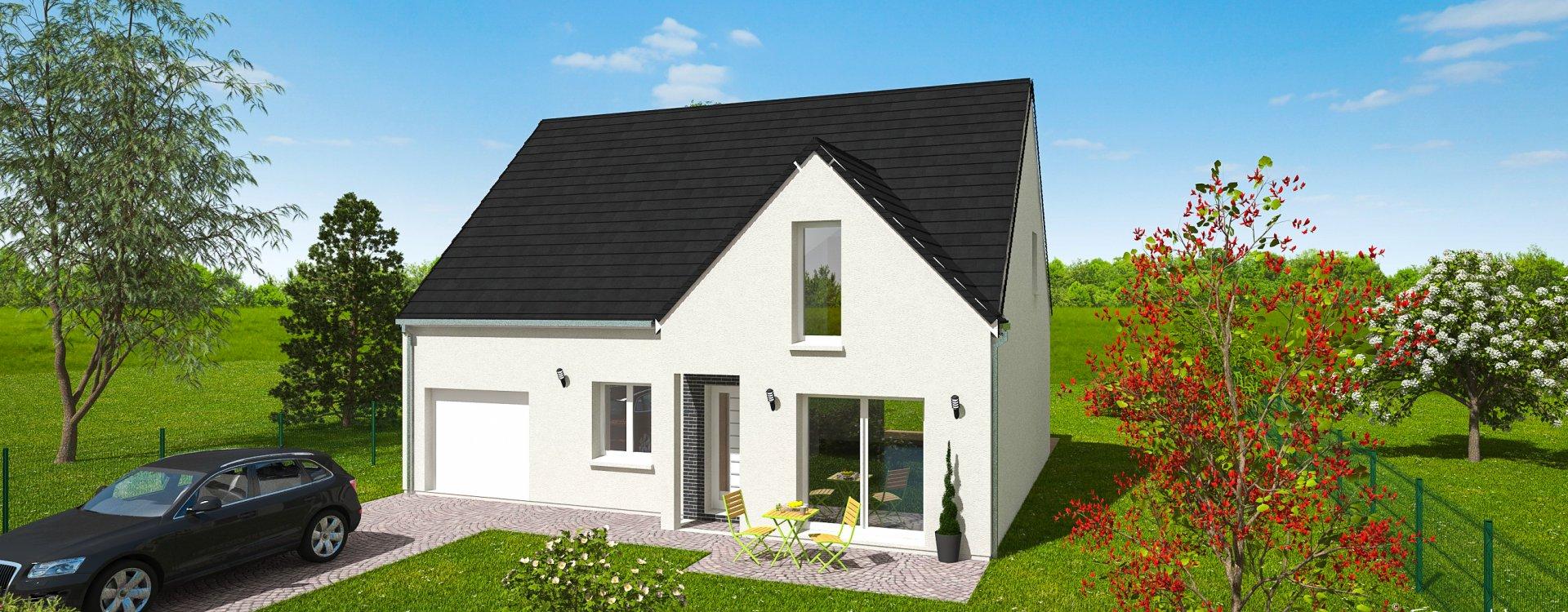 Maisons + Terrains du constructeur EASY HOUSE FRANCE • 131 m² • INGRE