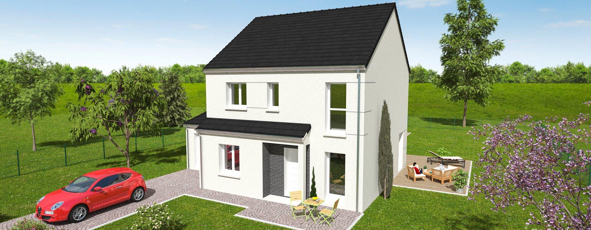 Maisons + Terrains du constructeur EASY HOUSE FRANCE • 114 m² • CLERY SAINT ANDRE