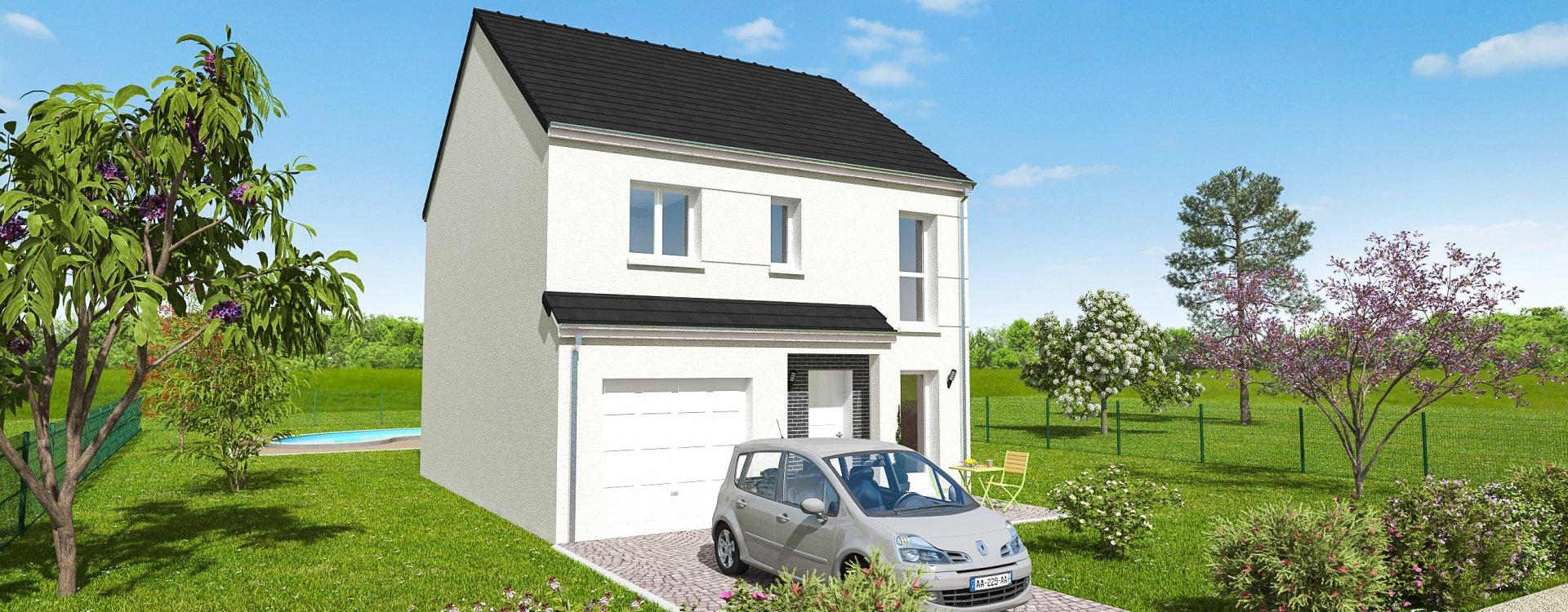 Maisons + Terrains du constructeur EASY HOUSE FRANCE • 98 m² • REBRECHIEN